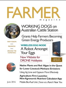 Farmer magazine June 2016 index