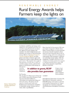 Rural energy awards available for farmers in the US